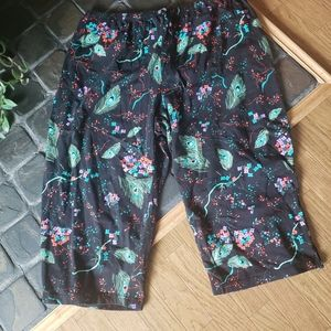 Addition Elle cropped peacok stretchy pj pants